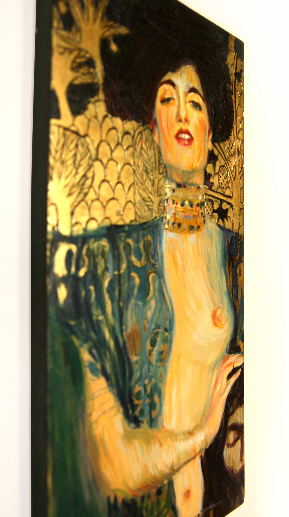 """Judith and the Head of Holofernes"""" by Gustav Klimt. Oil on panel ..."""