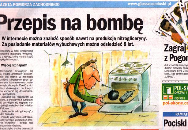 Illustrazioni realizzate nell'ambito della mia collaborazione con il quotidiano Głos Szczeciński.