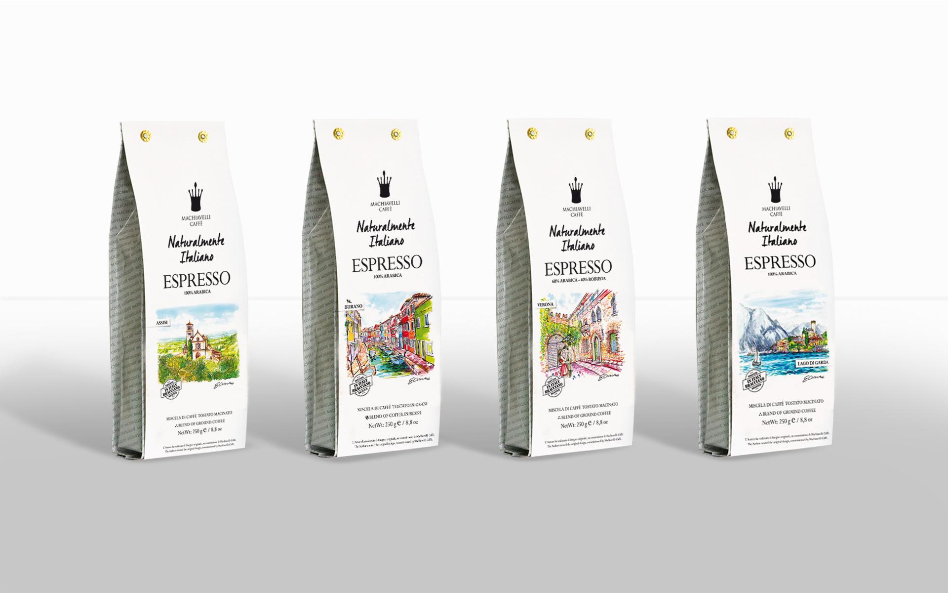 Naturalmente Italiano firmy Machiavelli Caffè